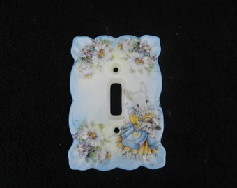 Switch Plates: Hand Decorated