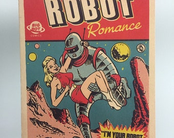 Robot Love Valentine's Card