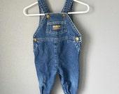 Classic Vintage Oshkosh baby Overalls (6-9 Months)