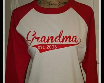 Mother's Day Raglan shirts...