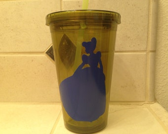 Cinderella Princess Tumbler/Cup