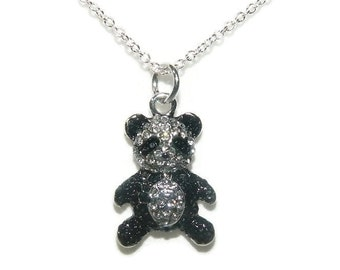 Childrens Jewelry, Panda Necklace, Kids Shop Necklace, Chain With Charm