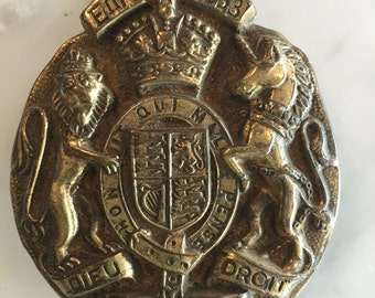 Charming Crest Door Knocker - Made in England 1953