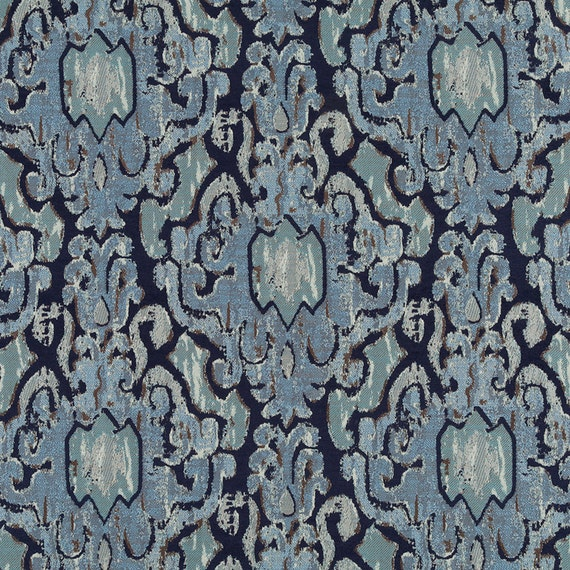 navy blue chenille upholstery fabric dark blue grey ikat pillow cover fabric woven textured. Black Bedroom Furniture Sets. Home Design Ideas