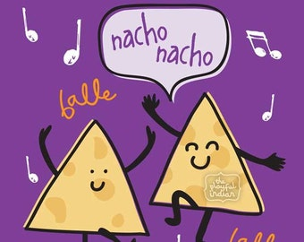 Nacho Nacho Birthday Card!