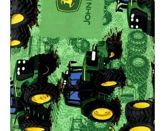 John Deere Tractor Flip Fabric by Troy Corporation