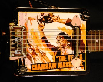 "Jester Guitars - ""The Texas Chainsaw Massacre"" Lunchbox Guitar"