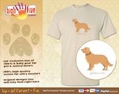 Dog T-Shirt - Golden Retriever