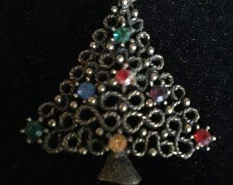 Jonette Jewelry Christmas  Tree Pin