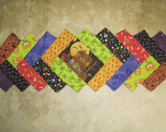 Holiday Halloween quilted table runners