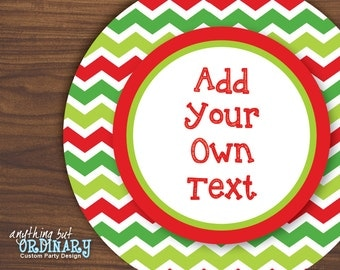 For Your Mistletoes Gift Tags DIY Editable by ABOcustomDesign