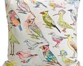 Picturebook Johannesburg Garden Birds Cushion Cover