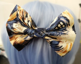 Doctor Who Exploding Tardis Hair Bow (a whovian favorite!)