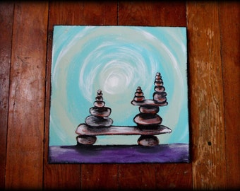 OAK Harmony ORIGINAL acrylic on canvas