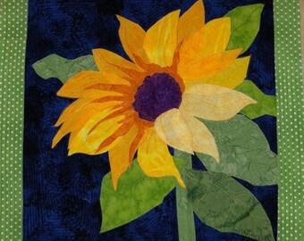 SUNFLOWER by Melinda Bula...Fabulous Fusible Flowers