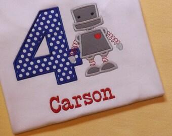 Robot T-Shirt or Bodysuit