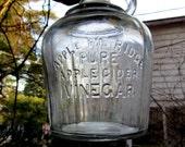 apple pie ridge pure apple cider vinegar glass pitcher jug with handle