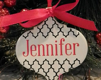 Personalized-Custom-Ceramic Ornament-Chirstmas Gift