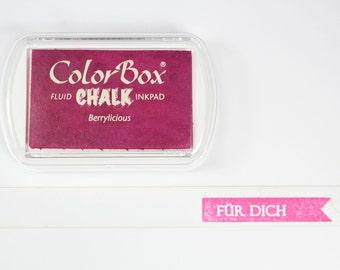♥♥ XL PINK - Berrylicious chalk Inkpad