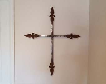 Rusted Metal Cross
