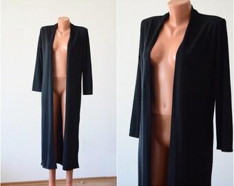 Vintage LONG Manteau , size S-M /34-36/