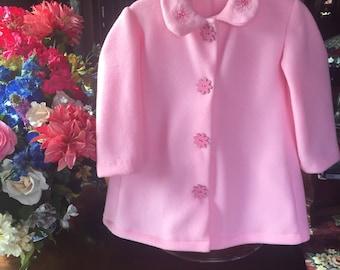 Toddler Pink Spring Coat