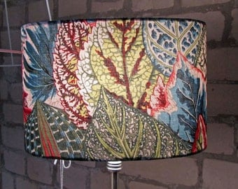 Lamp shade leaf plant