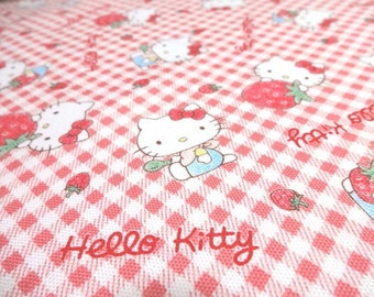 Sale japanese fabric kokka hello kitty world children for Children of the world fabric