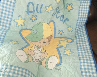 All Star by Precious Moments Baby Quilt