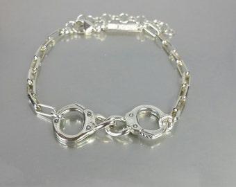Sterling Silver Handcuff Bracelet