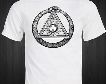 Ouroboros uroboros T-shirt