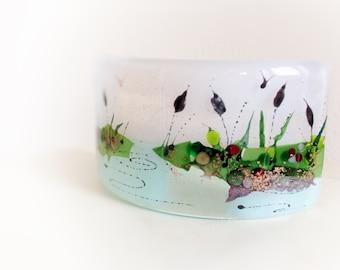 Decorative Fused Glass Curve