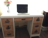 The Sweet Fleur- 7 Drawer Desk