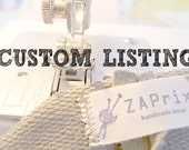 CUSTOM LISTING for Nancy Stillings