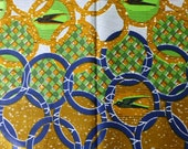 African Print Block Wax Cotton Fabric For Dressmakings/Tribal Fabric Kitenge/Pagnes/Chitenge/Ankara Sold By The Yard 151978921176