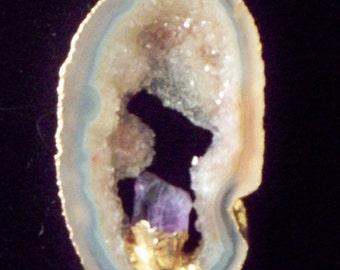 Amazing Amethyst Druzy Necklace