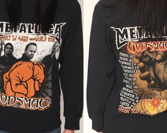 Metallica and Godsmack Longsleeve Tour Shirt