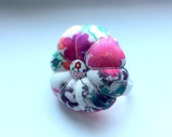 Handmade Colourful Wrist Pin Cushion ( Approximately 8cm )