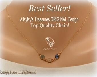 Birthstone Necklace, Gold Birthstone Necklace, Mothers Necklace, Birthstone Jewelry, Gold Mothers Necklace, Gold Birthstone Necklaces, Mom