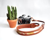 THE CLASSIC NOMAD || Leather camera strap, Stylish Leather Strap, High Quality Strap, Brown Leather Strap, Womens Camera Strap, Neck Strap