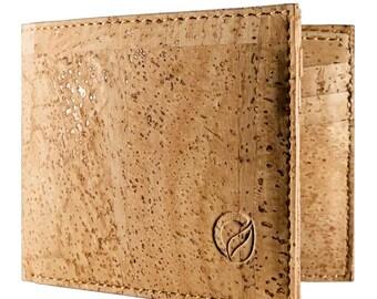 Front Pocket Wallet - Minimalist Wallet - Slim Wallet - Vegan Wallets Man - Dark Brown (CK153)