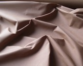Waxed Cotton Fabric in Tan - wedium Weight - by the metre - 60 inches wide