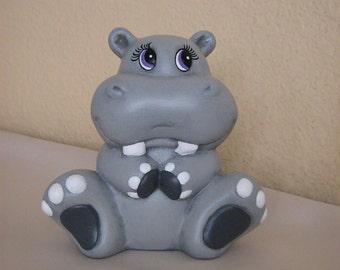Ceramic Hippo