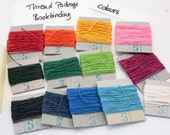 Bookbinder's Large Linen Thread and Beeswax Pack, Variety Pack