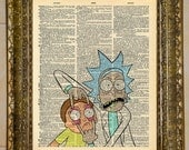 Rick and Morty Dictionary Art