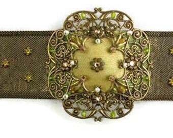 Vintage Satellite Paris Bracelet