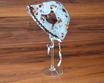Vintage baby bonnet, Newborn photo prop, props, accessoires