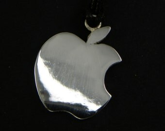 Apple Pendant Silver 925 - Made in Italy
