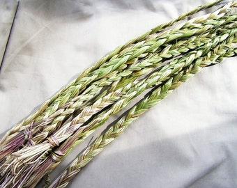 Sweetgrass Braid, Smudging Herb, ceremony