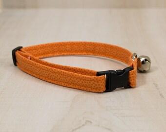 Cat Collar, Orange Cat Collar
